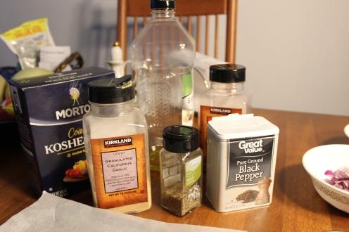 Seasoning + Olive Oil